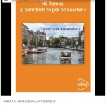 social-media-inhaker-ajax-real-madrid-ramos-gele-kaart-postnl